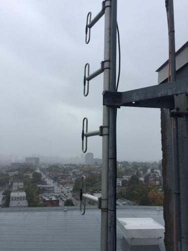 Antenne 4-dipôles UHF